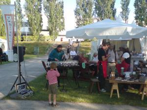 Sommerfest mit Glasharfe