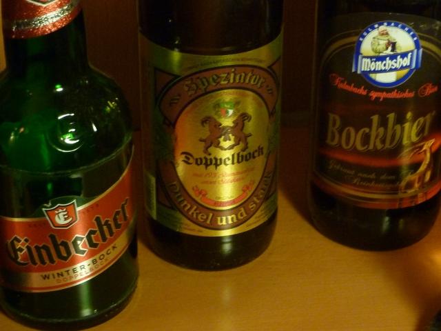 """Links """"Einbeckisch Bier"""" -bitte bayerisch aussprechen versuchen"""
