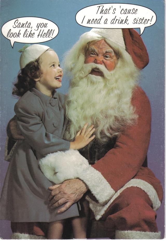 Ein Toast auf Santa