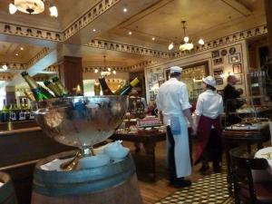 Ein Traum: die altehrwürdige Brasserie-Atmosphäre