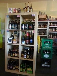 Neben Bier gibt es auch Beer