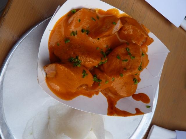 Currywurst Punjab-Style