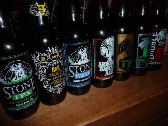 Bastard Beer und andere Stones