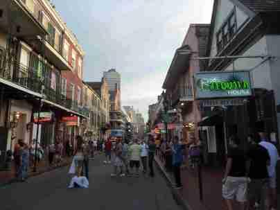 French Quarter, Vieux Carree und Bourbon Street