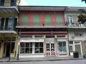 Hier betrieb Antoine Amédée Peychaud seine Apotheke
