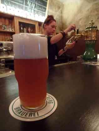 Das Summer Ale in seiner ganzen Pracht